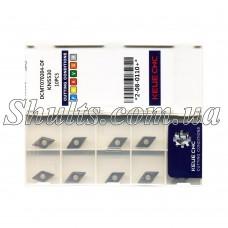 DCMT 070204 DF KNS530 Металлокерамика пластина