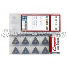 16 ER 1,5 ISO Carpfite Твердосплавная пластина