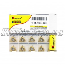 16 ER AG55 PRC Keencutter Твердосплавная пластина