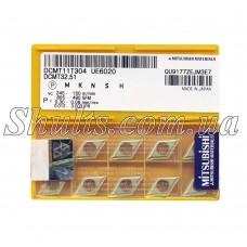 DCMT 11T304 UE6020 Твердосплавная пластина