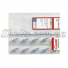 VCGT 160404 - AK H01 Твердосплавная пластина